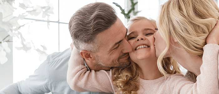 Chiropractic Raleigh NC Family With A Child